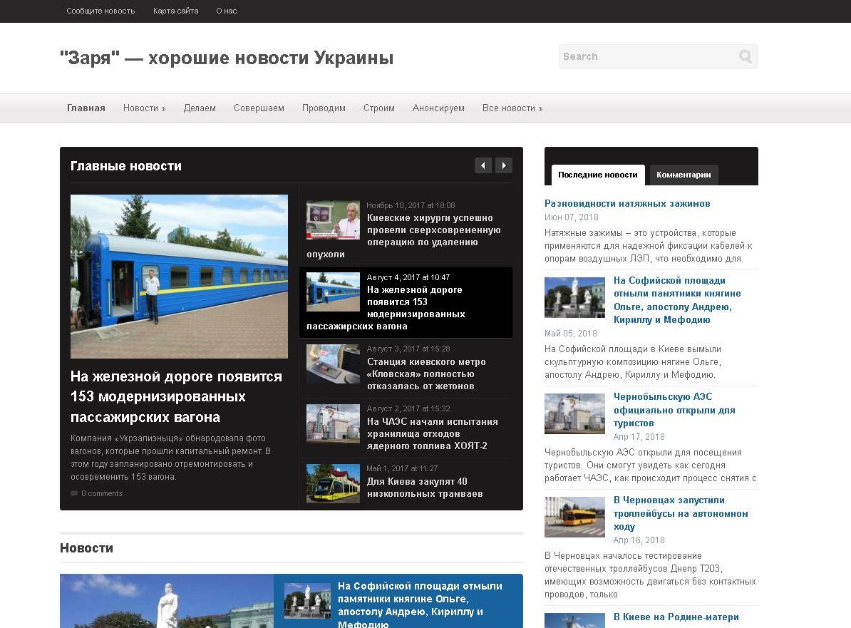 хорошие новости Украины